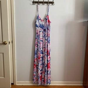 Jennifer Lopez Floral Dress